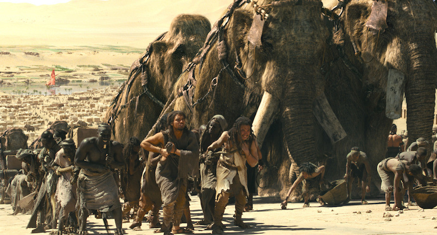 Mammoths were still alive when Egyptians were building their pyramids.