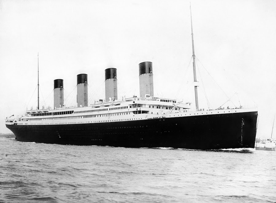 It cost $7 million to build the Titanic and $200 million to make a film about it.