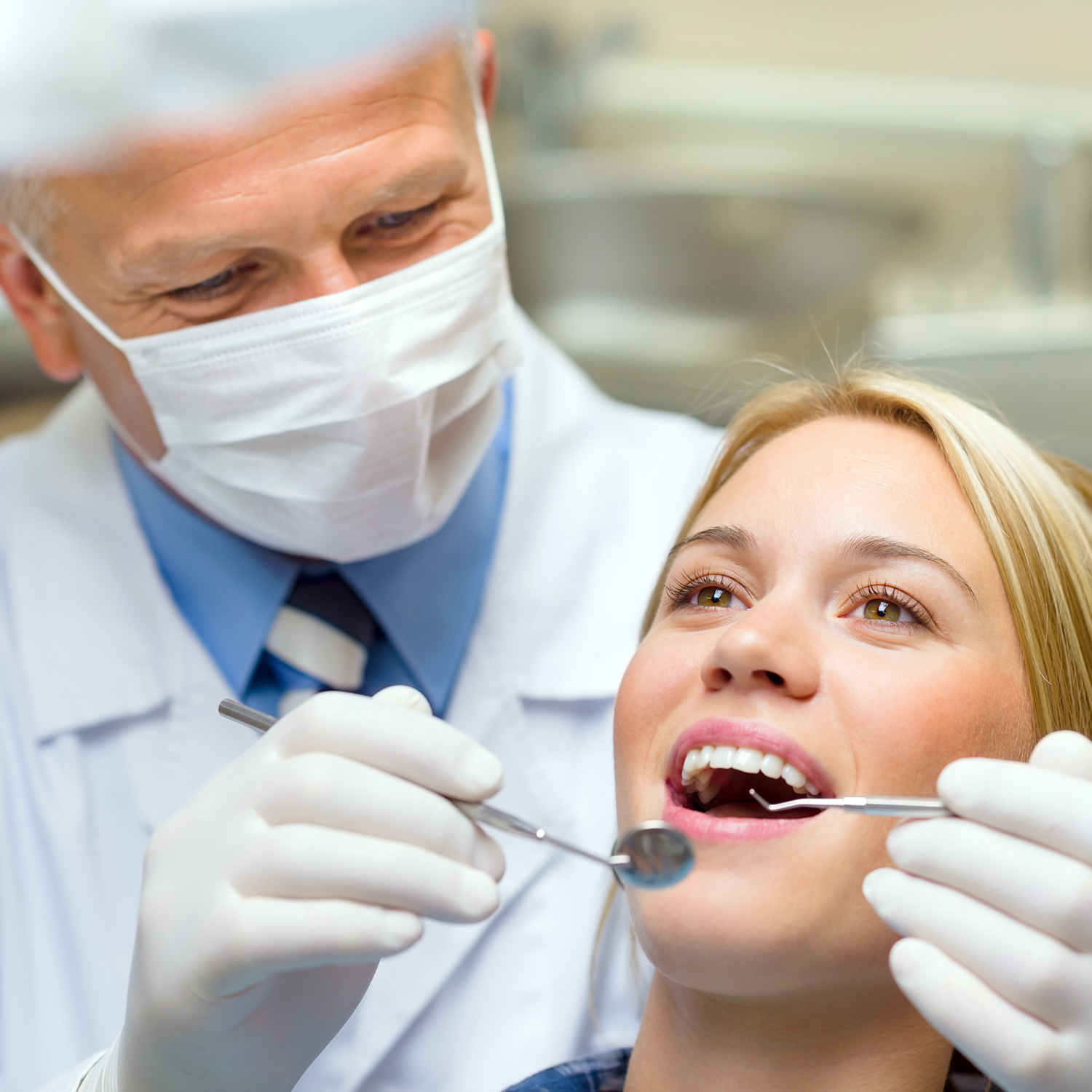 How often do you have to go to the dentist?